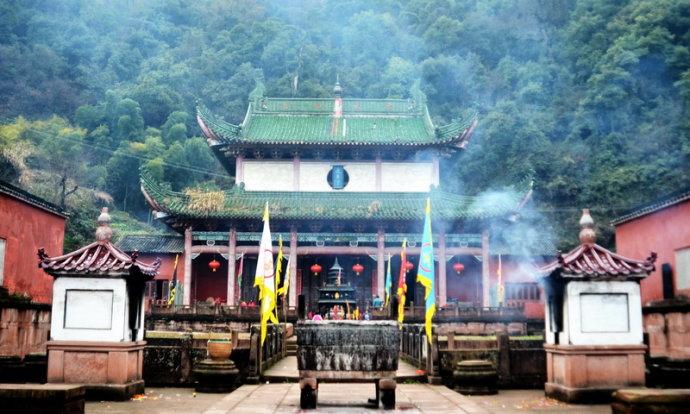 中国四大道教名山与位置