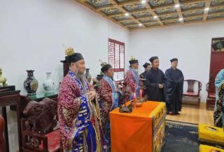 龙门洞道院辛丑年传统冠巾法会