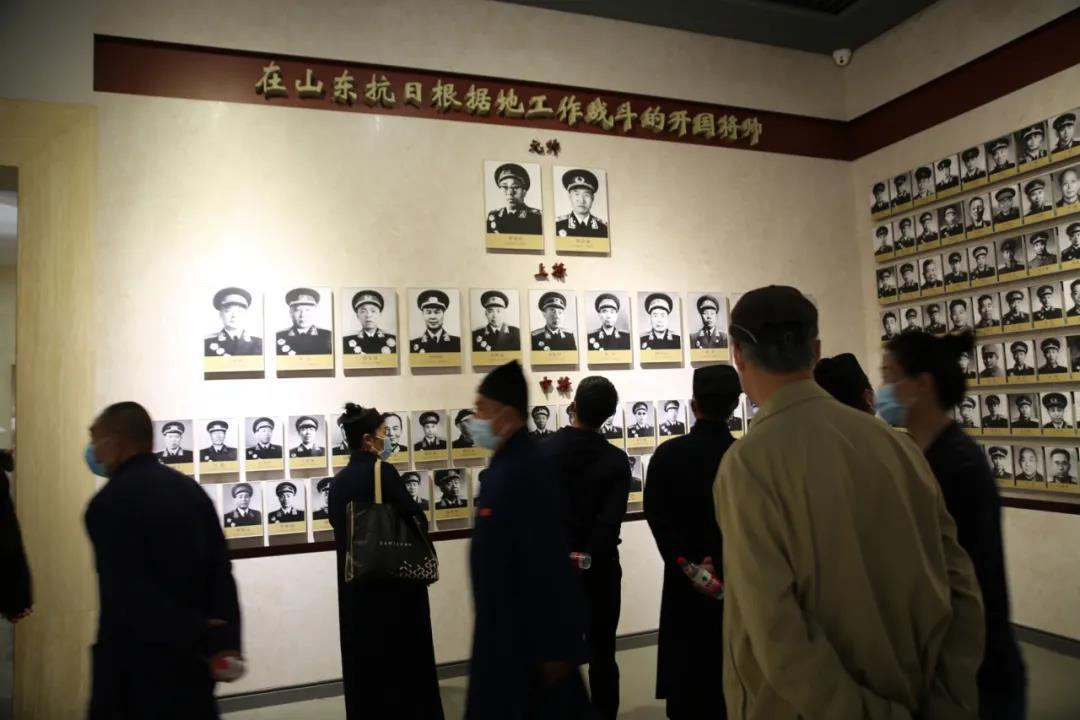 临沂市道教协会集体来到莒南县八路军115 师司令部进爱国主义教育活动