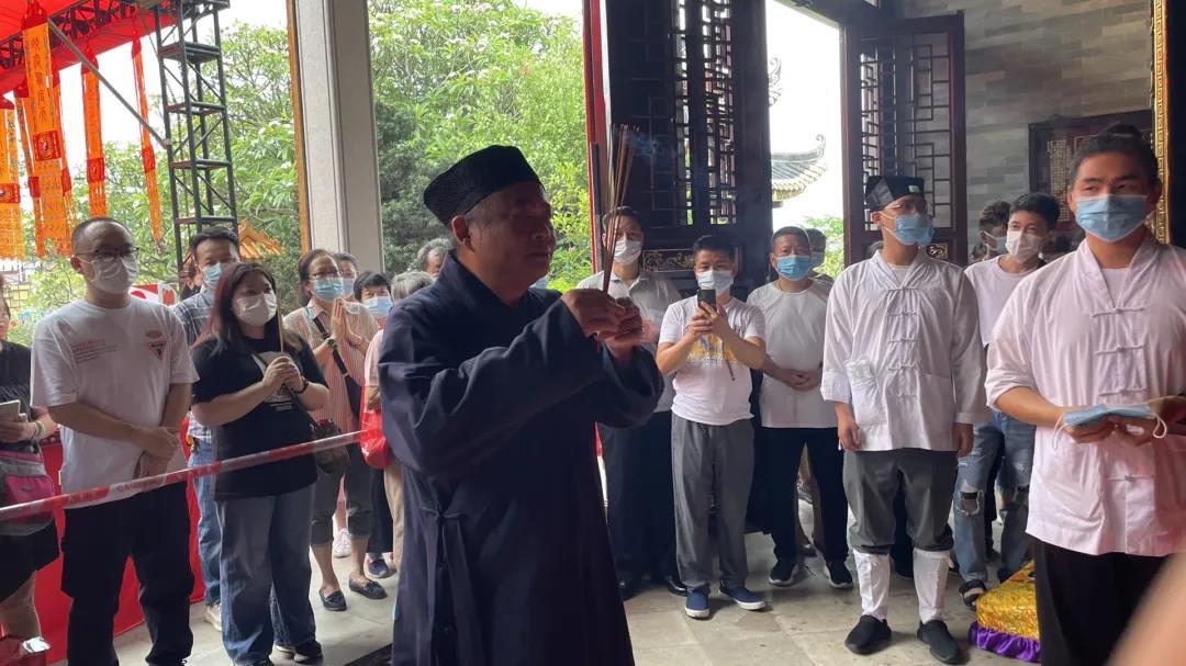 广州纯阳观举办辛丑年吕祖(吕洞宾)诞系列慈善祈福活动