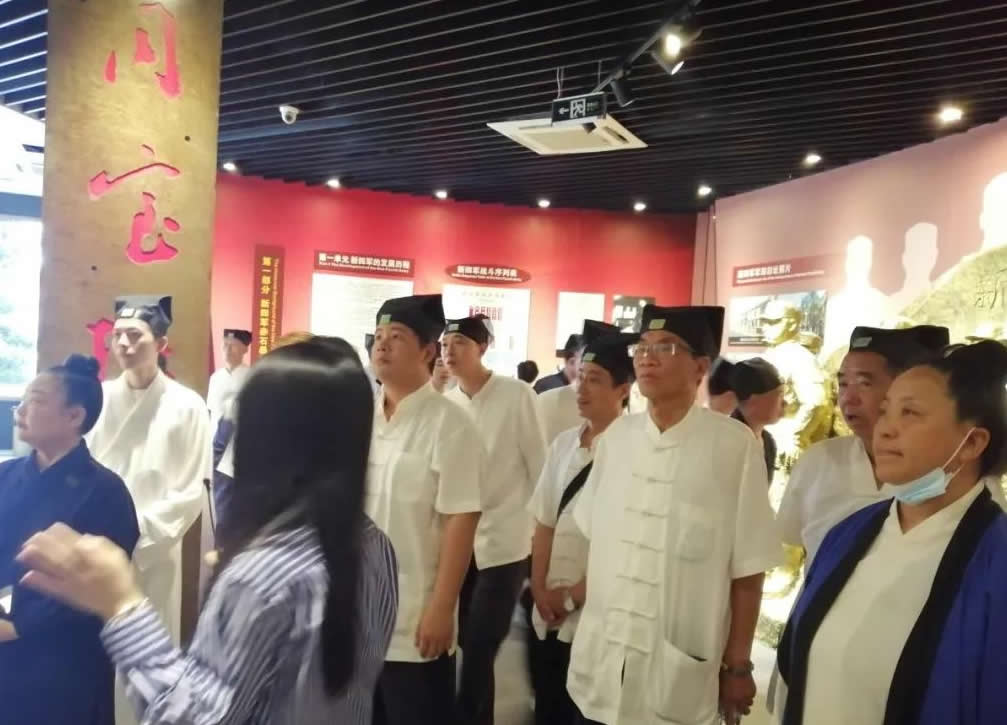 """南平市道教协会开展庆祝""""中国共产党成立100周年"""" 系列活动之红色教育"""