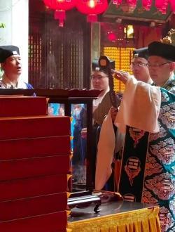 上海城隍庙2021辛丑年清信弟子皈依法会回顾