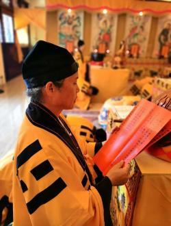 广东圆玄道观中元节盂兰法会圆隆,五日法事科仪回顾