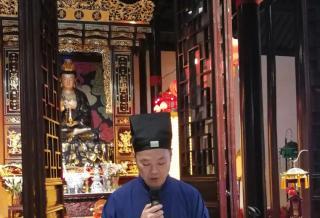 中国道教协会第十三届玄门讲经上海选拔赛在虹庙举行