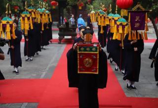 热烈祝贺上至下岭孟尊师荣升北京白云观方丈 升座图集