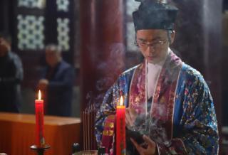 辛丑年九月初九,北京白云观隆重举行九皇九真庆贺祈福法会