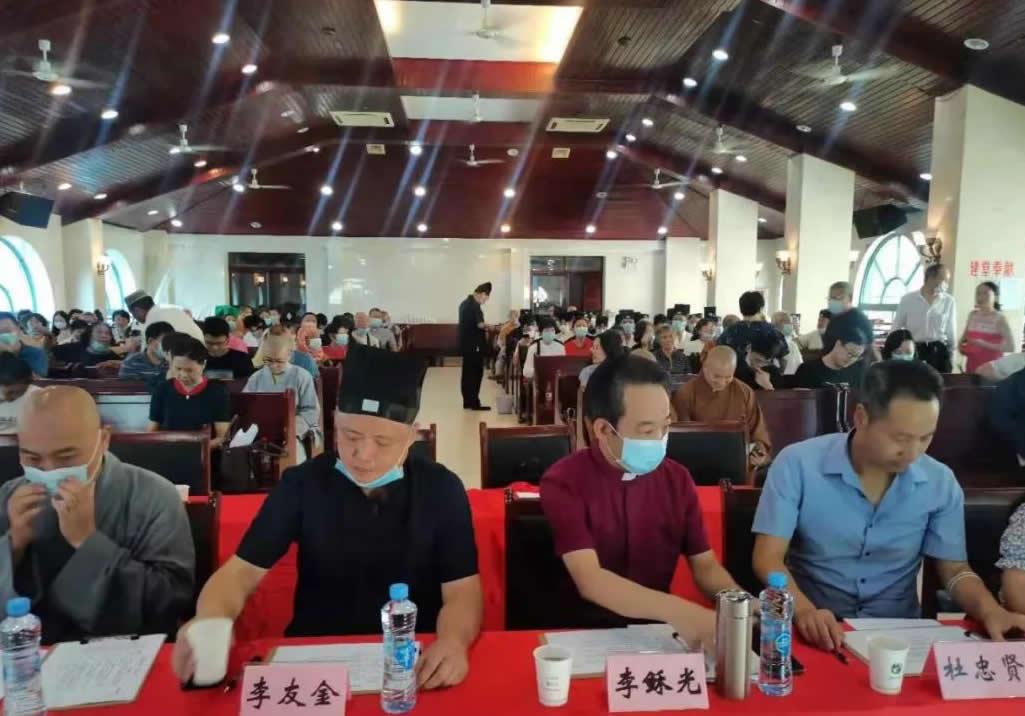 南昌市宗教界庆祝中国共产党成立100周年暨爱党爱国爱社会主义演讲比赛成功举行