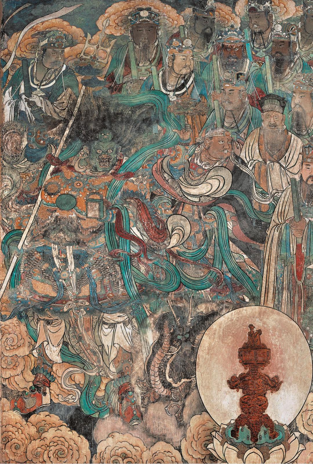 天蓬元帅形象考证 天蓬和天猷的区别